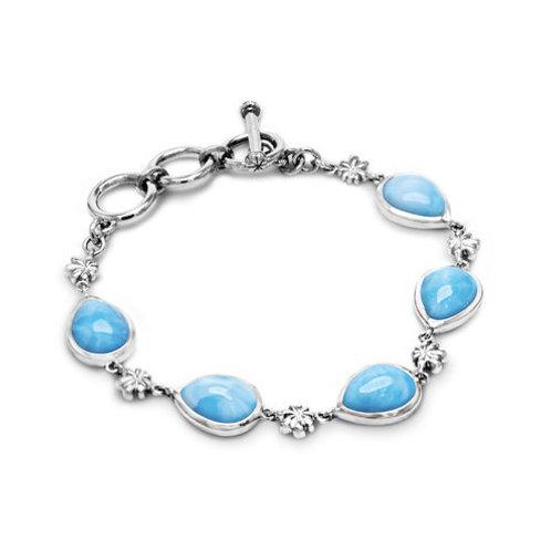 Logo Larimar Bracelet