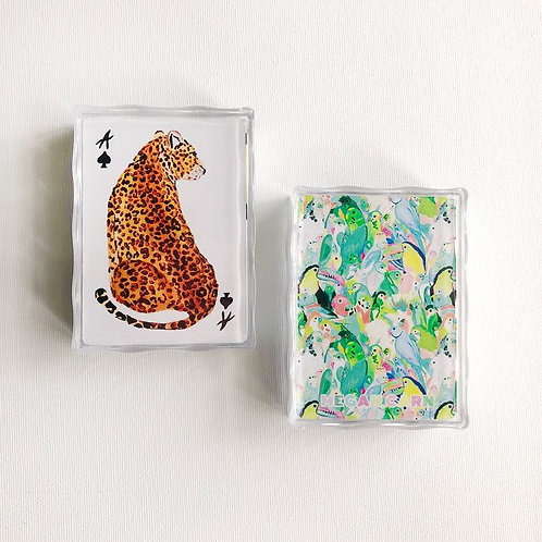 Safari Deck - 54 Hand-painted Standard Playing Cards