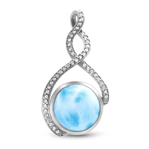 Adella Larimar Necklace