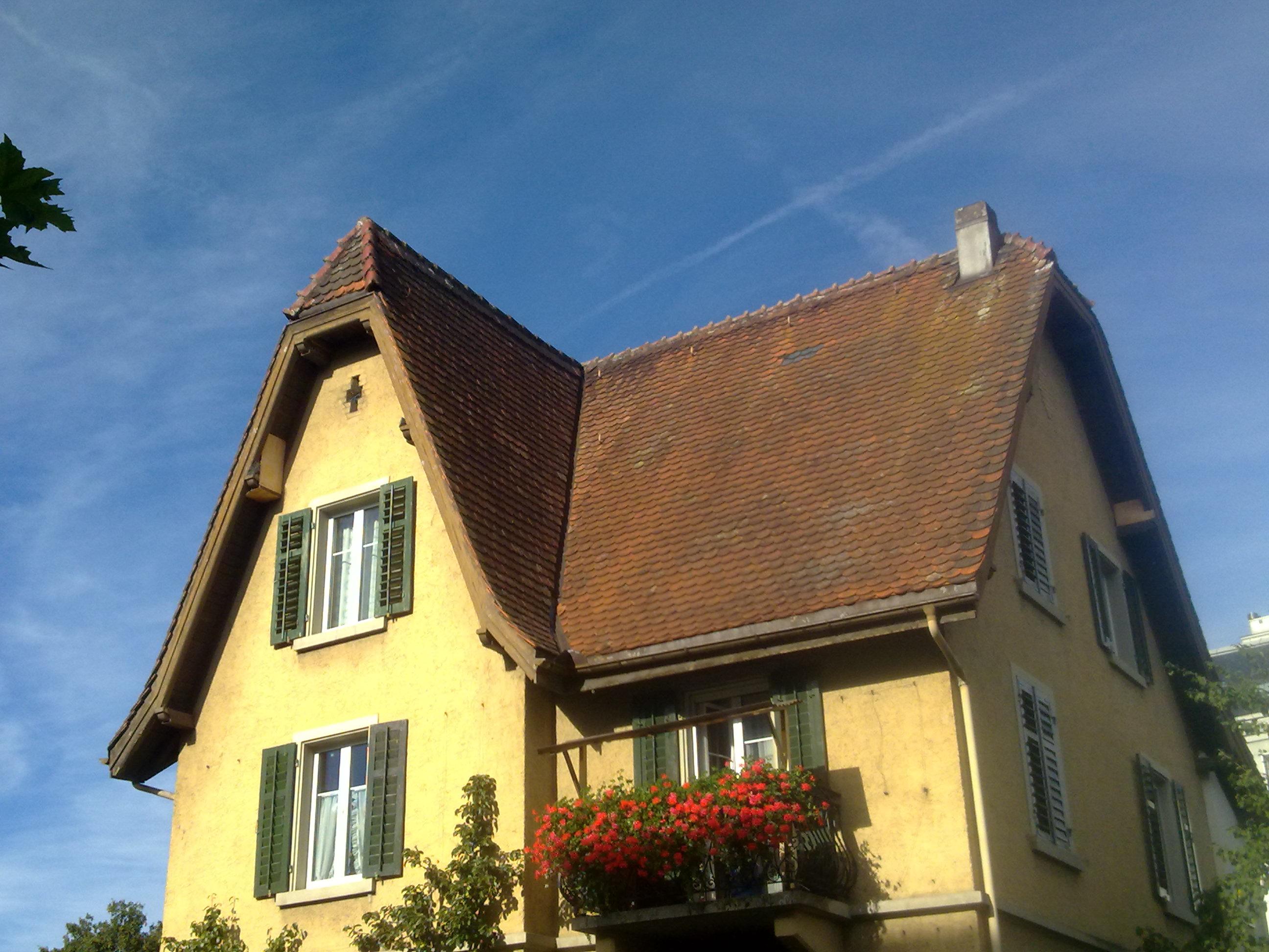 Mehrfamilienhaus - vorher