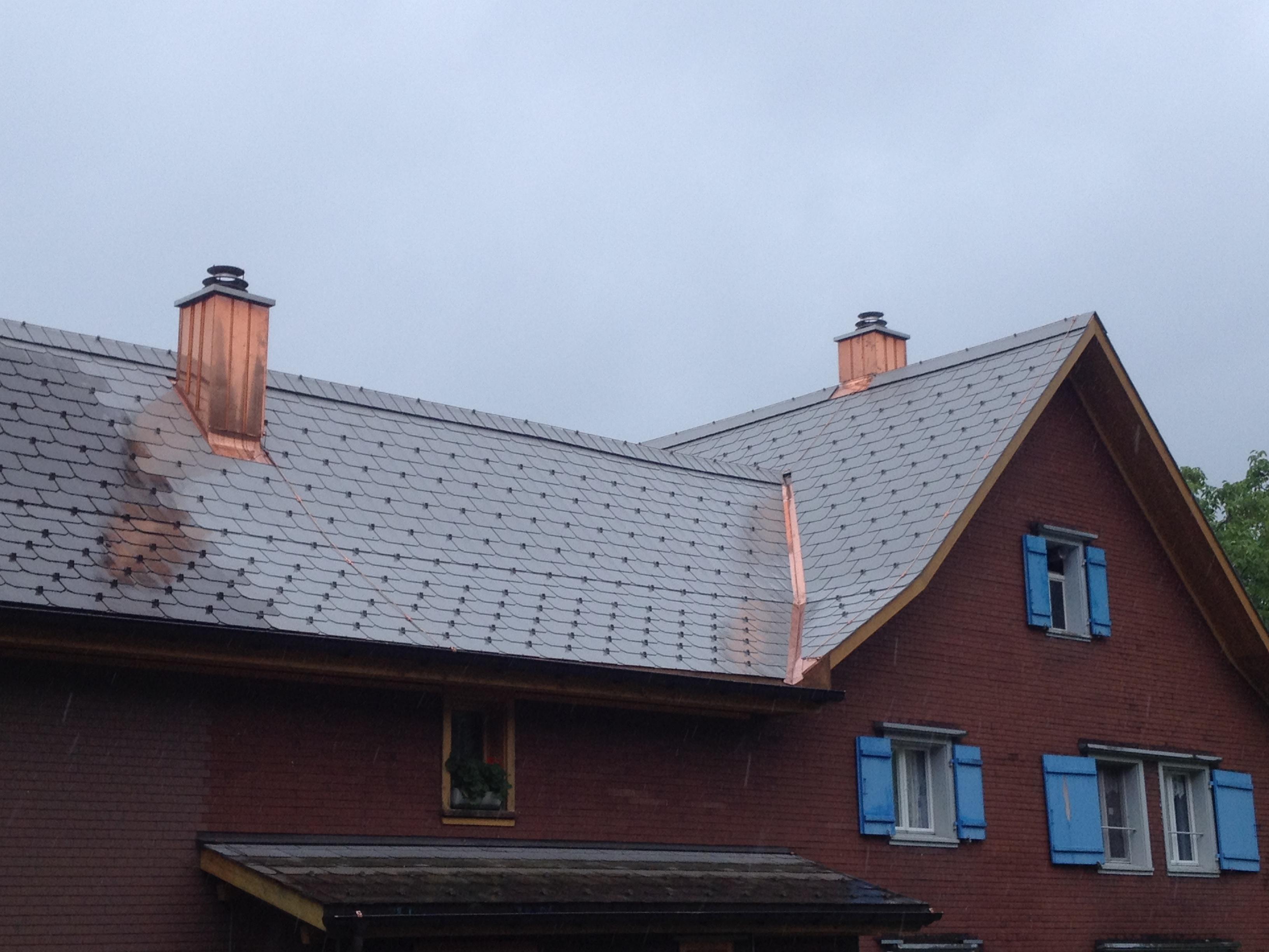 Bauernhof-Dach - nachher