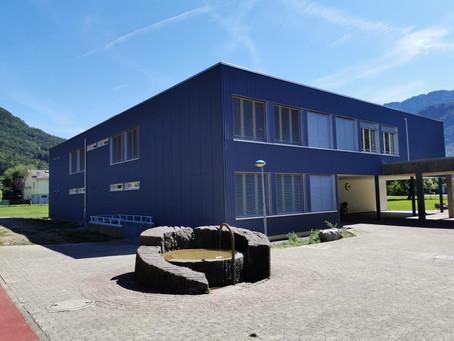 Sanierung Schulhaus Hof Schänis - Fassadenarbeiten