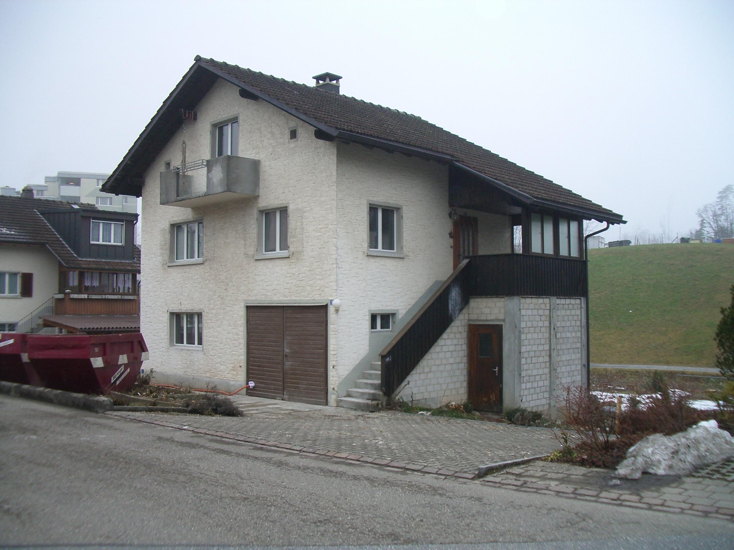 Einfamilienhaus Jona - Vorher