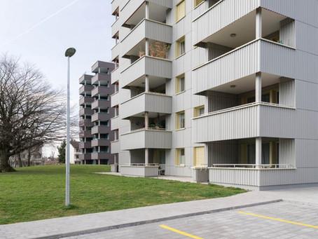 Sanierung 2 MFH Tann / Rüti - Fassaden -und Flachdacharbeiten