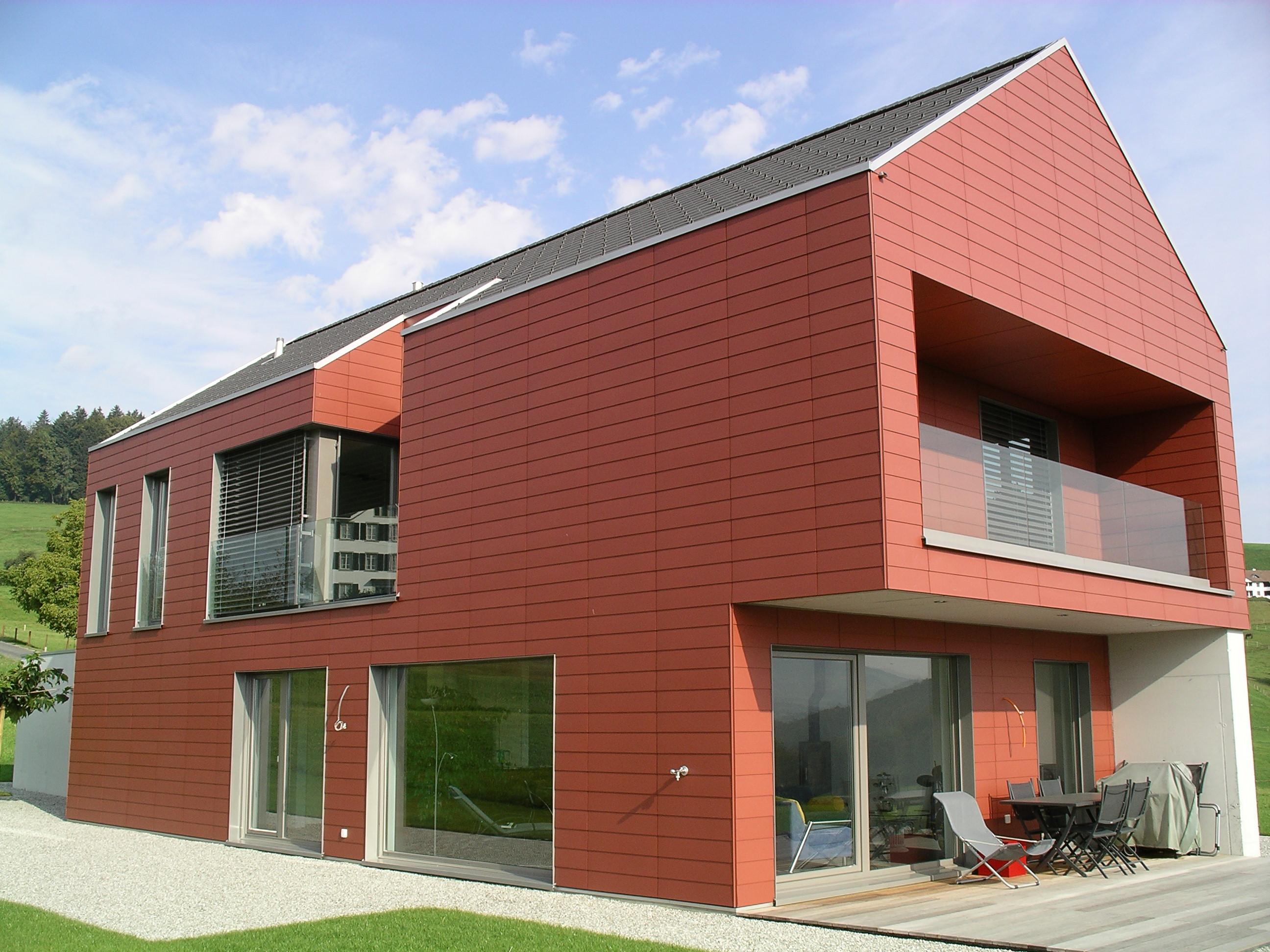 Fassadenvariante für die Moderne