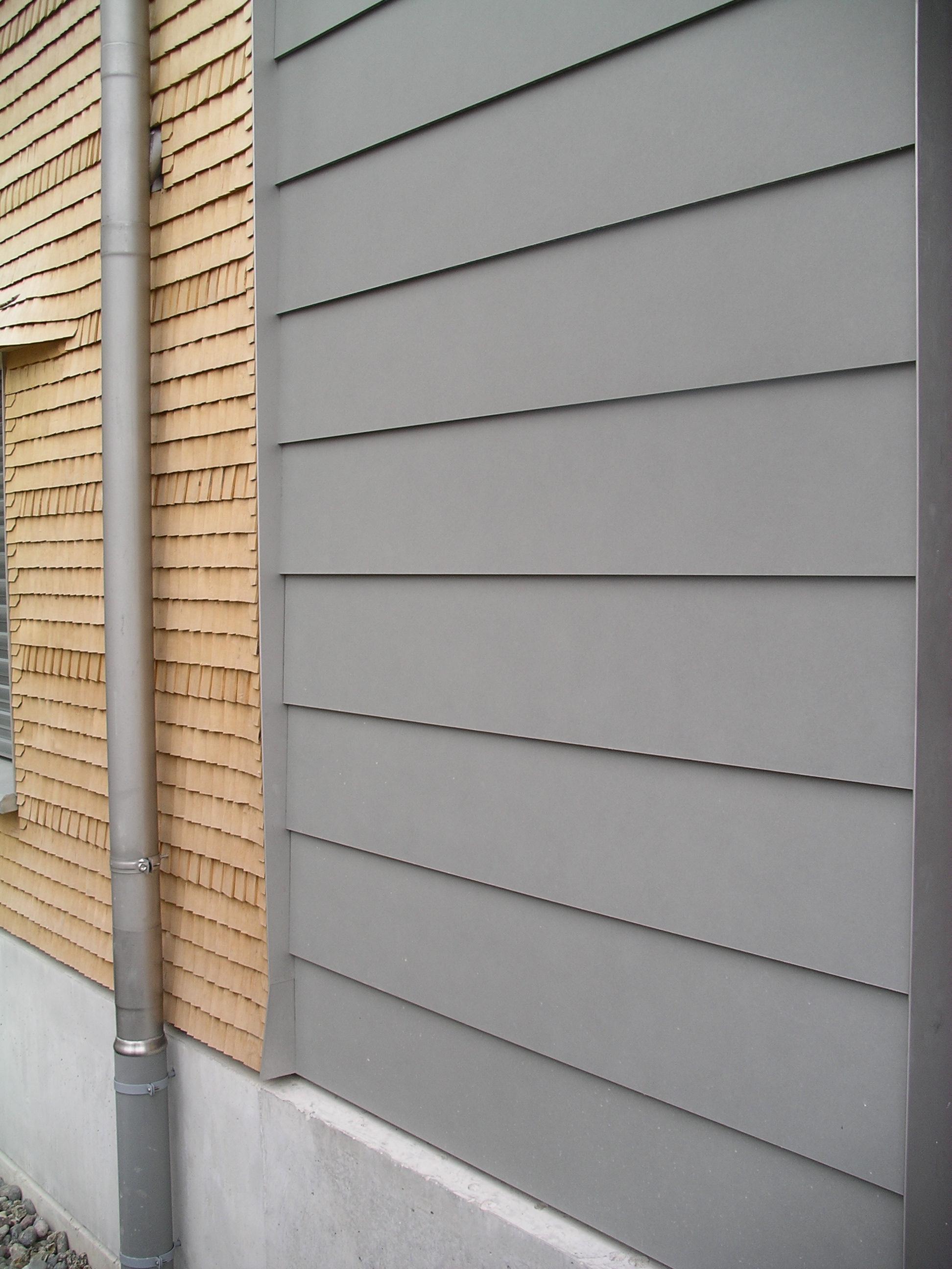Kombinierte Fassade