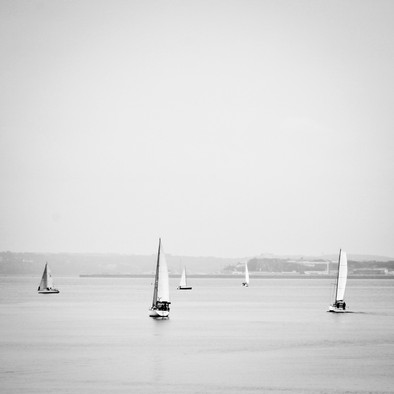 Voiles blanches (white sails)