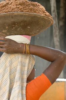 India - Woman in orange