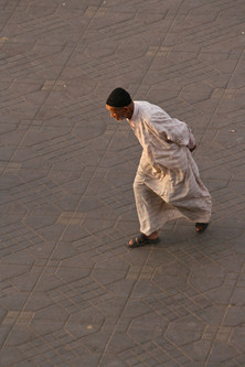 Morocco - man in ocre