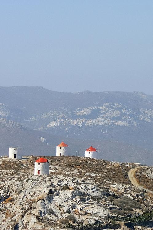Grèce - Moulins