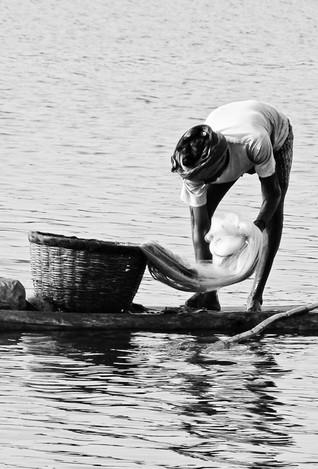 India - fisherman