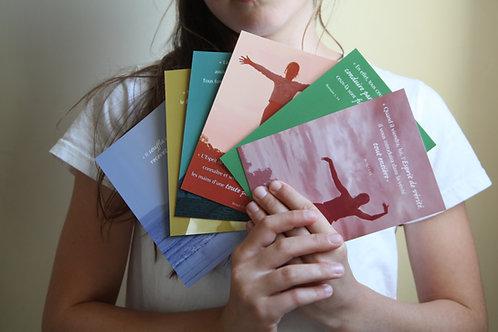 6 cartes Saint Esprit