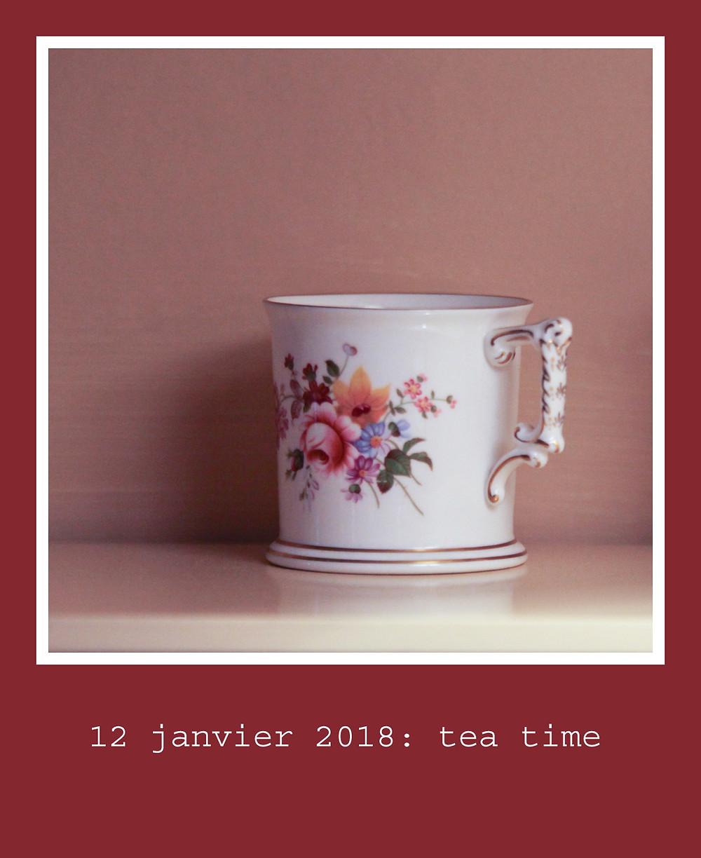 tea time tasse de thé