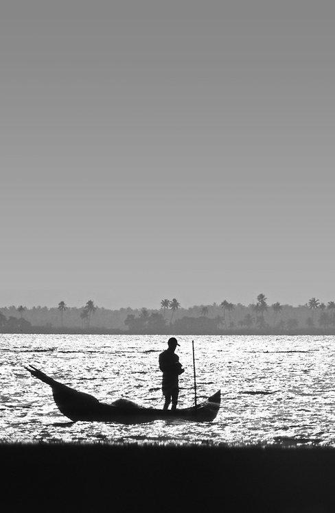 Inde - Barque