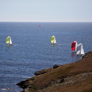 Groix - régate rouge (red regatta)