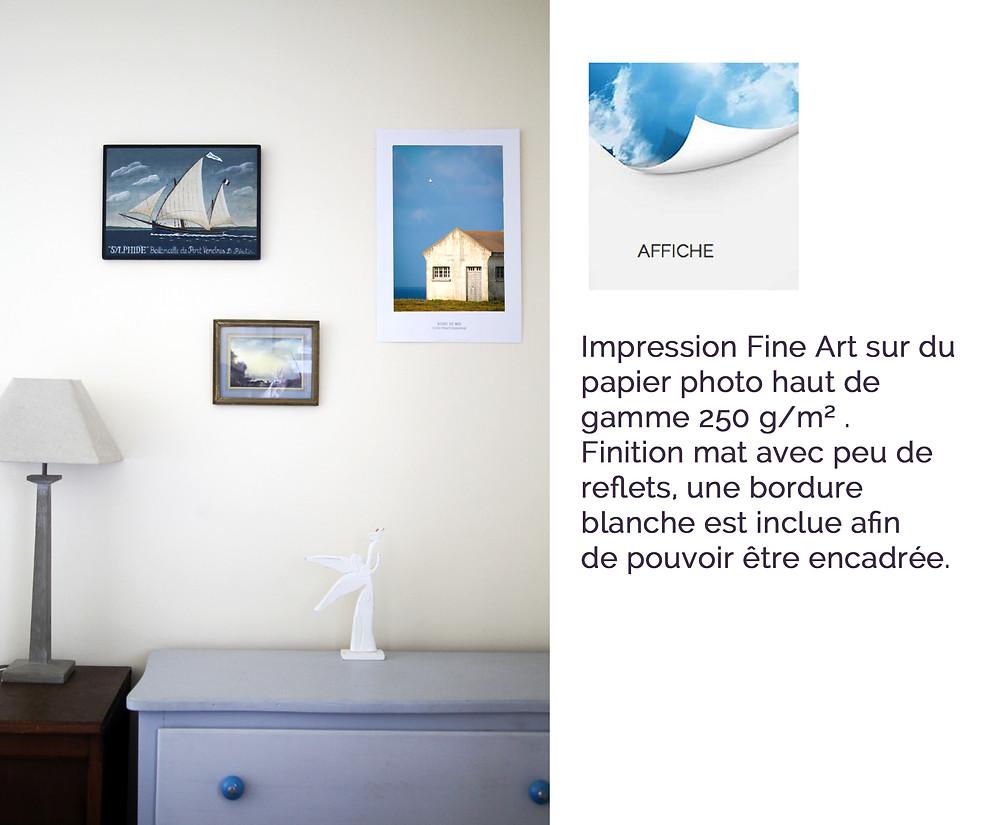 photo sur affiche Groix