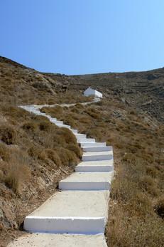 Greece - flight of stairs