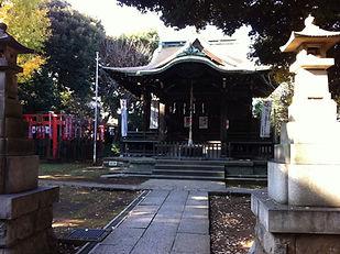 大森山王日枝神社 合氣道 氣道 旧社務所