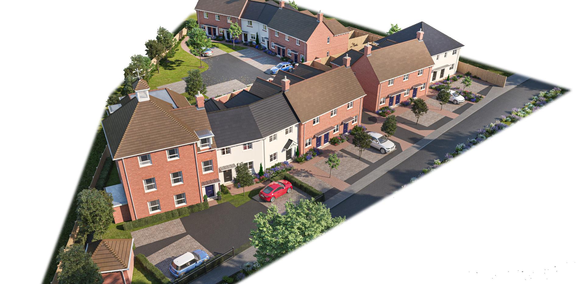 Beckley Walk Site Plan