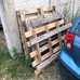 More pallets donated by Berkeley Homes