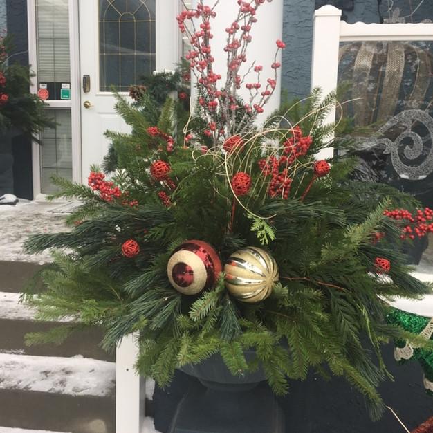Christmas Planter Inserts