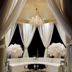 All White Gazebo Lounge