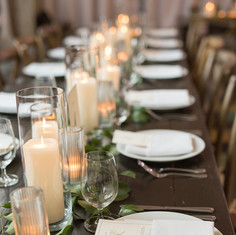 LED Candle Tablescape