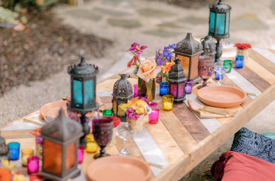 Moroccan Themed Dinner Party