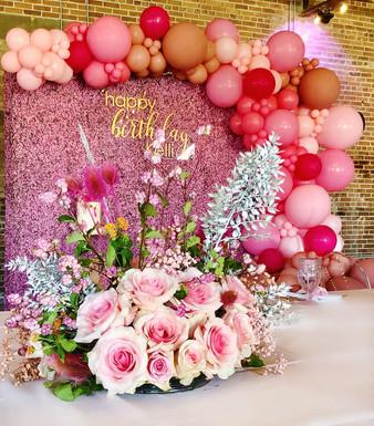 Pink Birthday Brunch