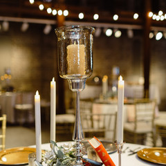 Book and Candle Centerpiece