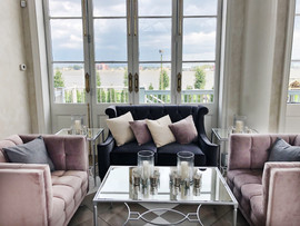 Lilac and Grey Lounge