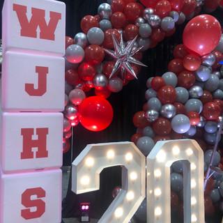 WJHS Light Up Cubes