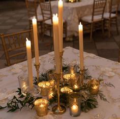 LED Candle Centerpiece