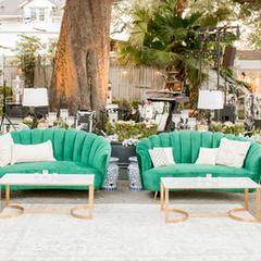 Green Shelley Lounge