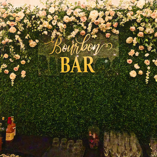 Bourbon Bar Sign