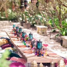 Moroccan Tablescape