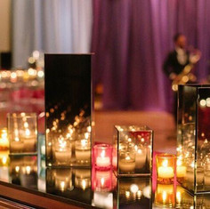 Infinity Glass Tablescape