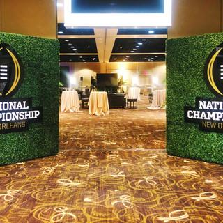 NCF Logo Signage