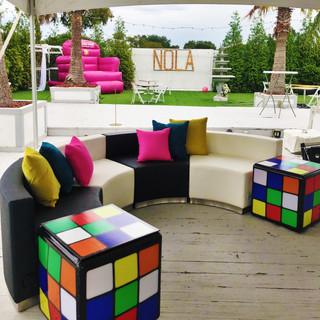 Rubix Cube End Tables