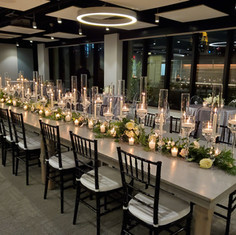 Clear Tablescape