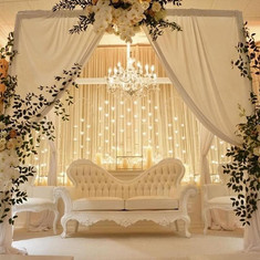 All White Wedding Lounge