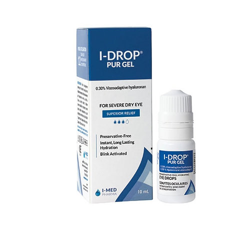 IMed Pharma I-Drop Pur 0.3% Gel Drops 10ml