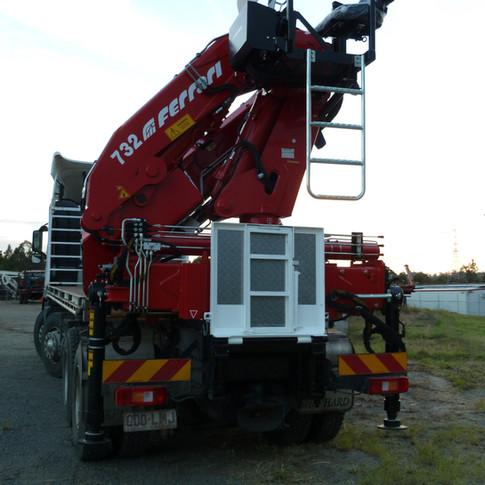 Ferrari 32m Tonne Crane