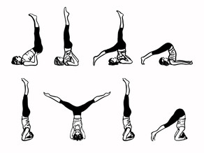 Inverted Yoga Poses