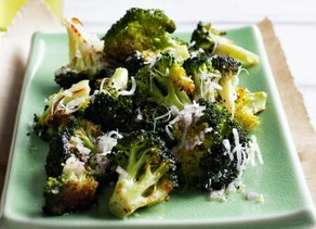 Roasted Lemony Brocolli