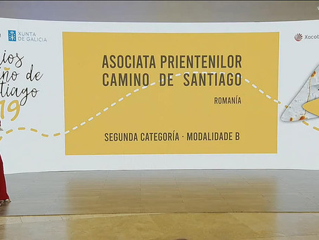 Asociația Prietenilor Camino de Santiago premiată de Xunta de Galicia