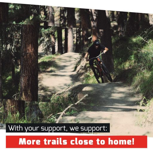more trails close to home!