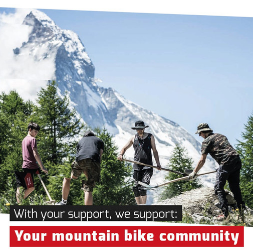 your mountain bike community!