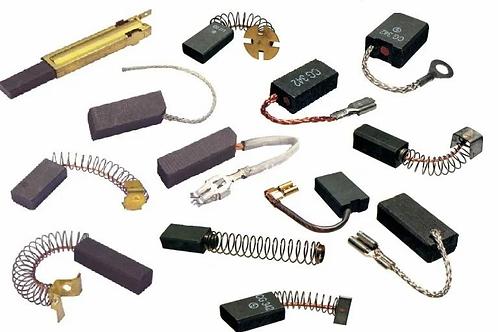 Электроугольные щетки в ассортименте