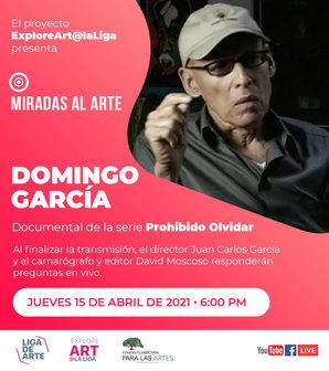 Miradas al arte - Domingo García
